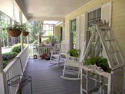 Southern Front Porches | love my southern front porch every year here in east texas we get ...
