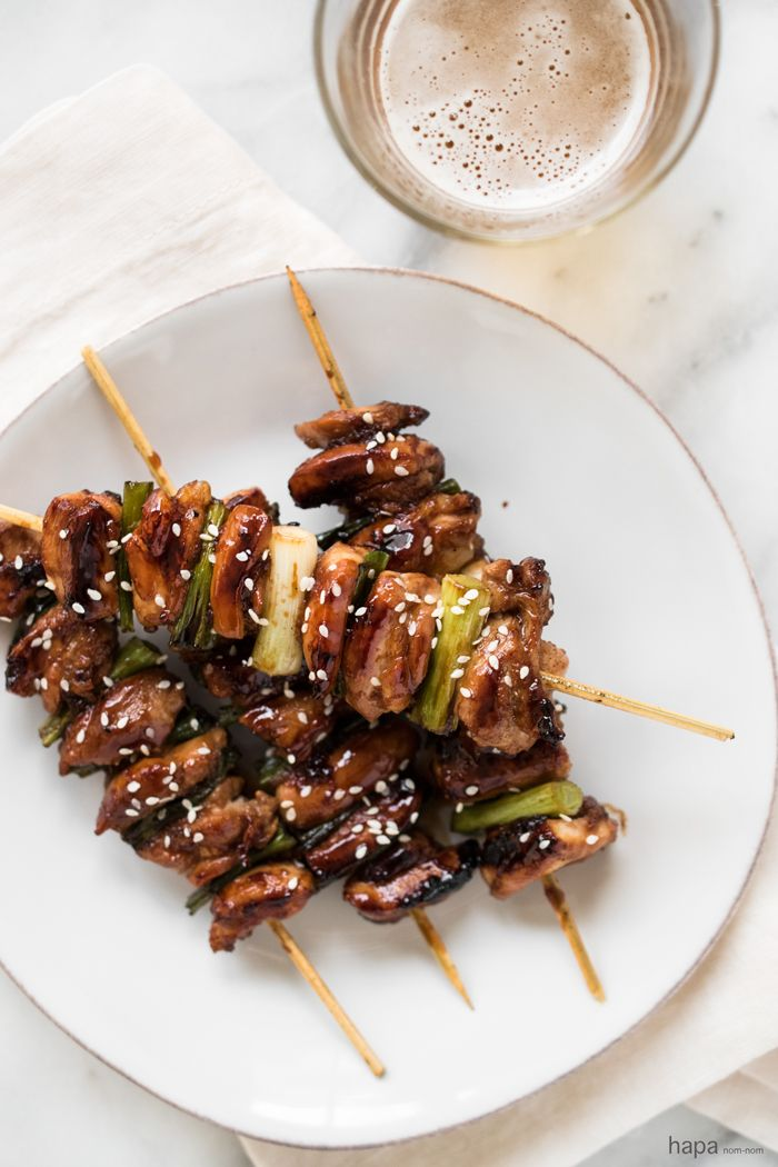 Negima Yakitori - Tender, juicy, and packed with flavor! Serve with an ice-cold beer, and you have your own in-home izakaya.