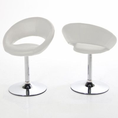 The Actona Plump Dining Chair white at Julia Jones North Wales #dining #chairs