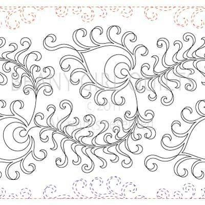 Longarm Quilting Stencils : 113 best images about Pantographs on Pinterest
