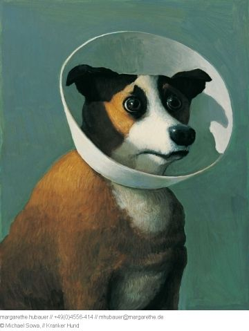 Kranker Hund - Michael Sowa