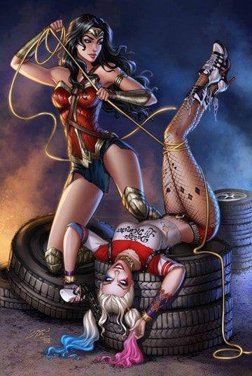 poderes de la mujer maravilla y batman
