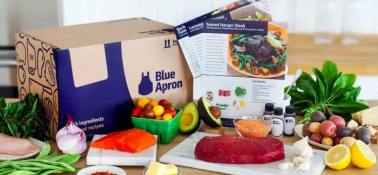 Get your delivery when it's convenient for you. Select a two-person or family plan. Tell Blue Apron your dietary preferences and get personalized menus. All the ingredients are carefully portioned and packaged in a refrigerated box and delivered to your door with cooking instructions. Get a subscription from Blue Apron for $9.99 a serving.