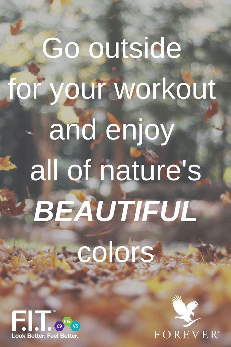 #IAmForeverFIT #Autumn #Workout #Motivaion