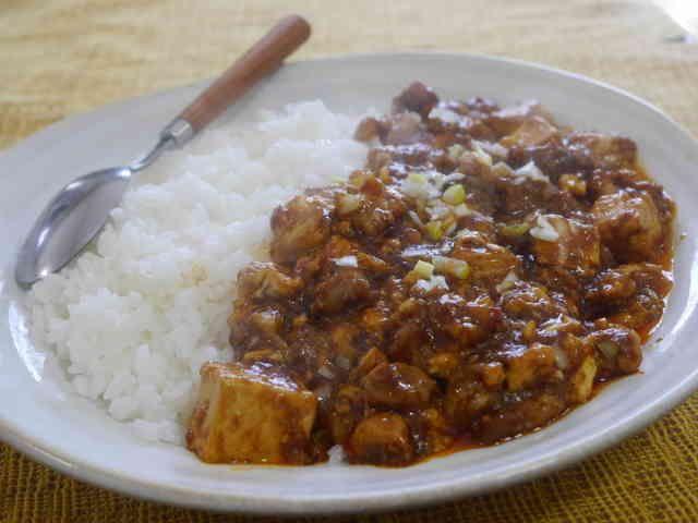 豚バラカレーマーボー豆腐の画像