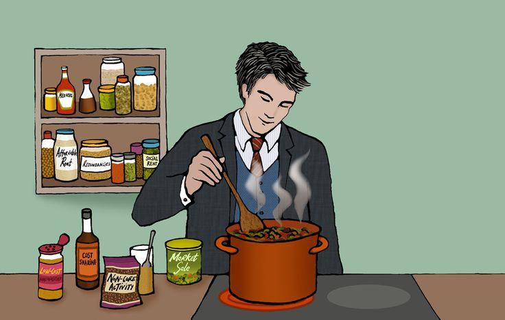 #emmabrownjohn #newdivision #illustration #digital #line #stylised #food #recipe #cooking #kitchen