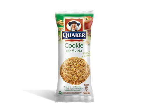 Cookies de Aveia QUAKER® sabor Maçã e Canela – 40g | Quaker