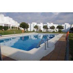 Alquiler casa adosada en Conil, Tejar- 4 plazas con piscina - AQA