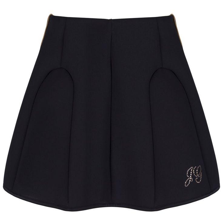 John Galliano Girls Black Skirt