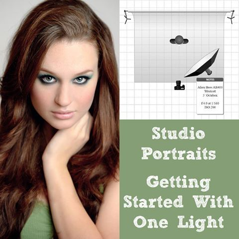 Studio Portraits – Getting Started With One Light