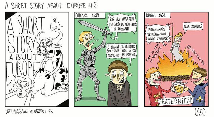 uzunagaz: Une courte histoire sur l'Europe #2