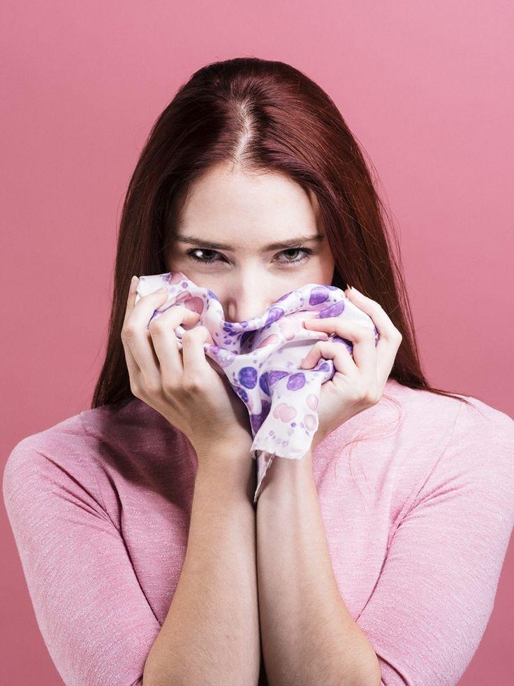 Anatomy Boutique: Histology Silk Handkerchiefs - Blood
