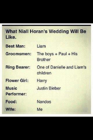 YES.: Direction Infection, Directioner, Wedding, Niall Imagines, Boys, Niall Horan, Flower Girls, Direction 3