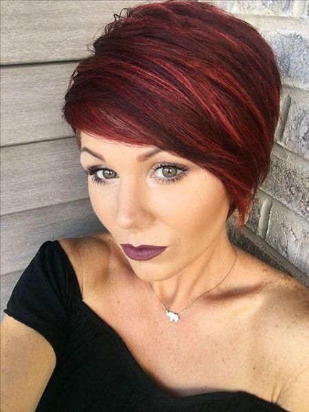 22 auffallend kurze rote Frisuren | Haare | Frisur rot ...