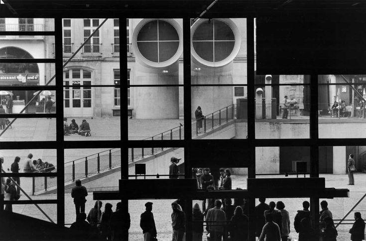 Centro Pompidou, Gianni Berengo Gardin, Parigi, 1981