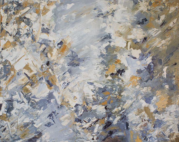 "abstraction (абстракция) ""April"" (70*90 oil/canvas, 2014) ""Апрель"" 70*90, холст/масло, 2014г by Chuprova Margarita"