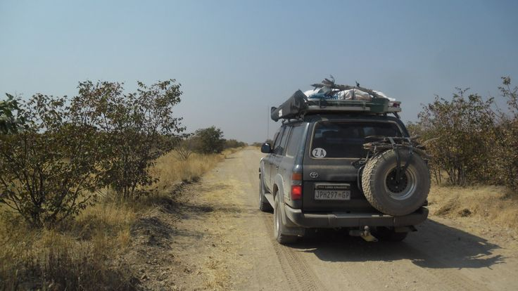 One of the D roads Namibia