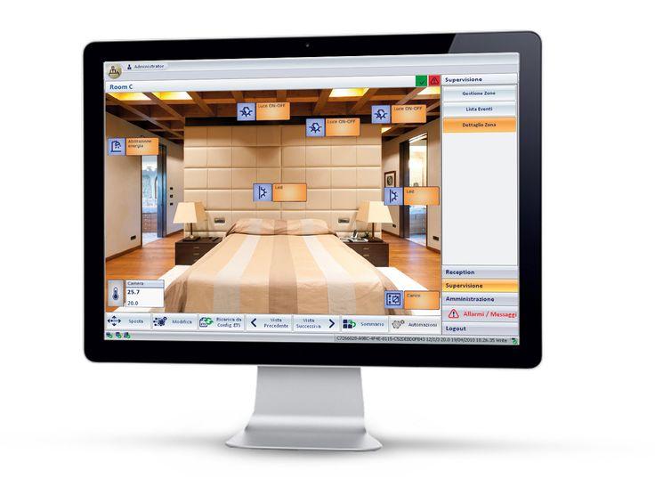 Vimar - Una accoglienza da favola! Software di gestione del sistema Well-contact plus.