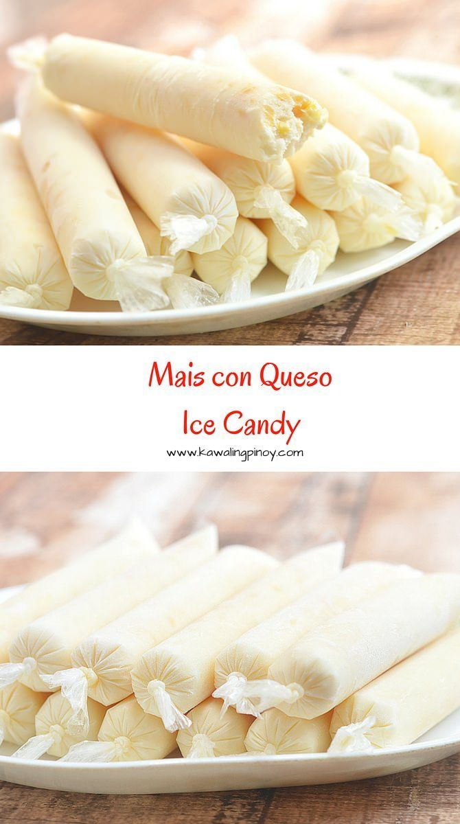 Mais con Queso Ice Candy is a delicious flavor combination for Filipino-style ice pops. Made with corn, cheese and milk, they're creamy and addicting!