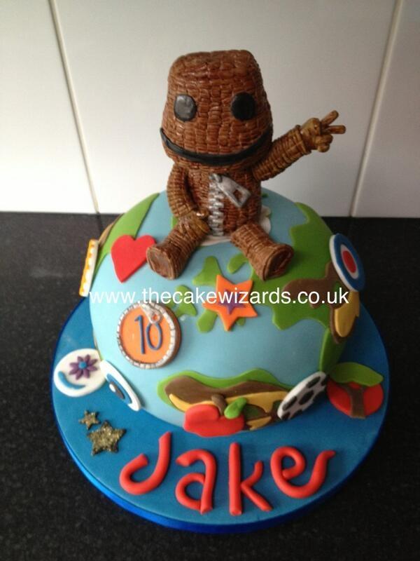 Little big planet cake!!!