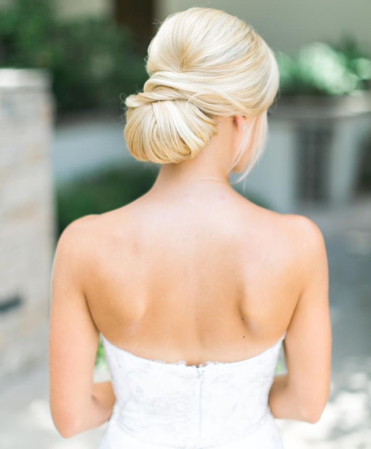 Match Your Hairstyle To Your Wedding Dress Neckline Updo