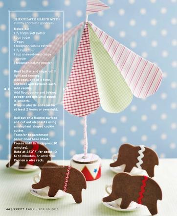 Chocolate CookiesChocolates Elephant, Chocolates Cookies, Kids Birthday Parties, Cookies Cutters, Elephant Cookies, Parties Ideas, Circus Parties, Parties Treats, Sweets Paul