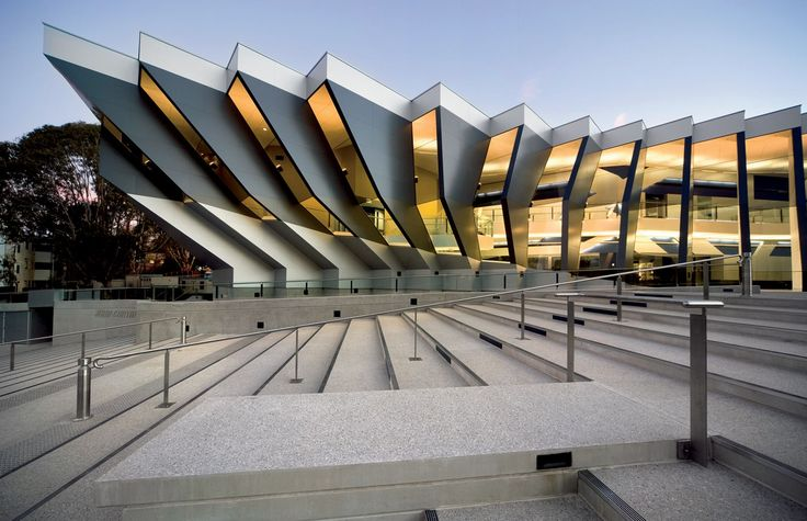 John Curtin School of Medical Research Stage 1.                       Lyons Architecture - Melbourne, Australia