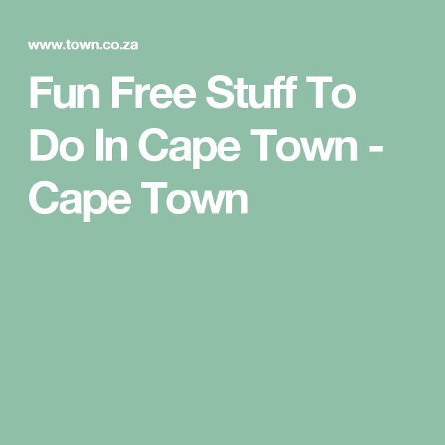 Fun Free Stuff To Do In Cape Town - Cape Town