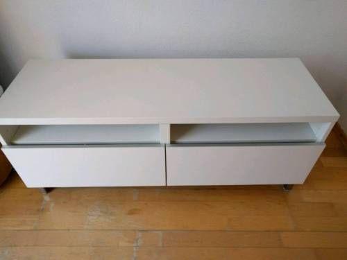 (1) Modernes TV Sideboard weiß - Fernsehr Tisch - Kommode in München - Sendling | eBay Kleinanzeigen