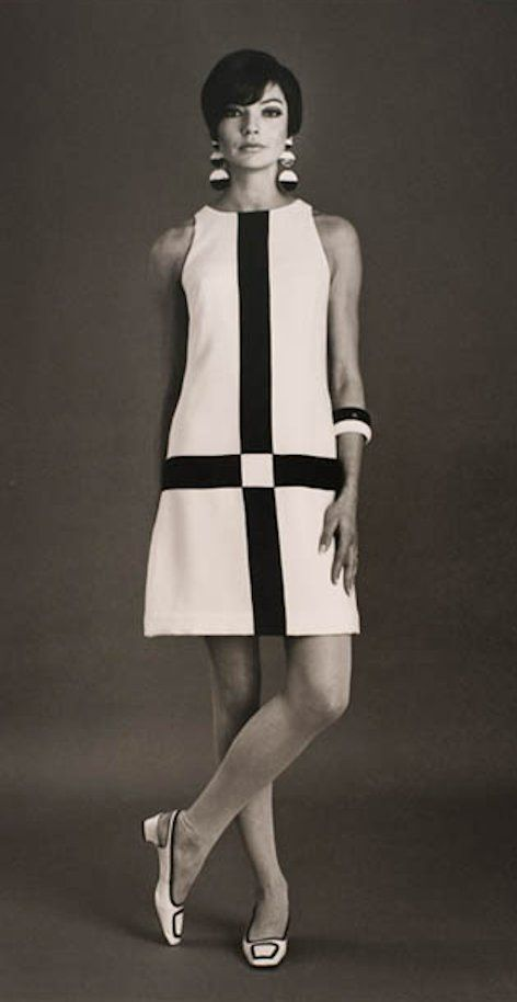 Jan Stewart in Simona fashion - 1966 - Sportsgirl - Styling by Hazel Benini - Photo by Bruno Benini - Powerhouse Museum, Sydney