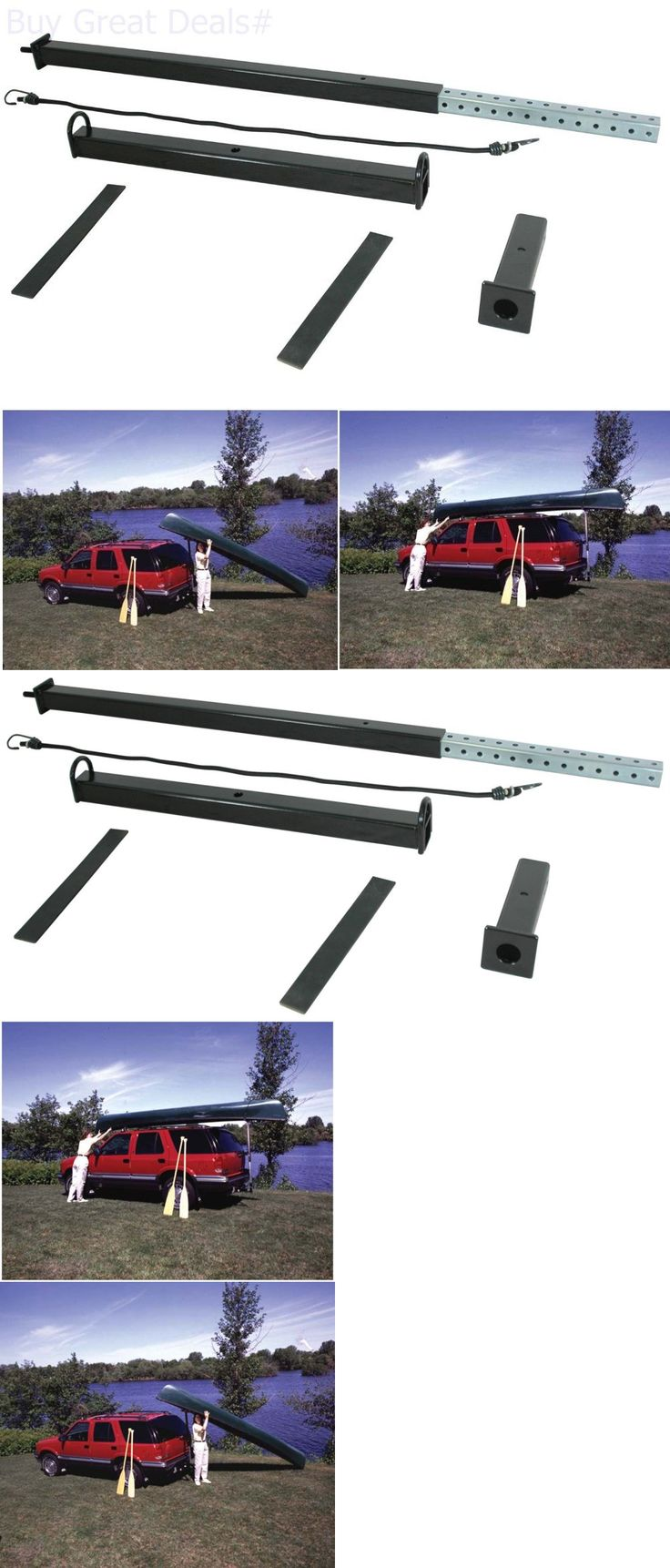 Other Kayak Canoe and Rafting 36123: Canoe Kayak Loader Reese Towpower Trailer Hitch Vehicle Durable Car Truck Racks -> BUY IT NOW ONLY: $87.03 on eBay!