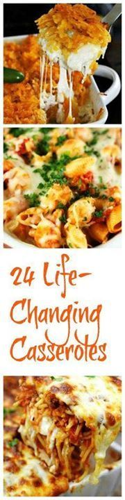 24 Life-Changing Cas 24 Life-Changing Casseroles Recipe :...  24 Life-Changing Cas 24 Life-Changing Casseroles Recipe : http://ift.tt/1hGiZgA And @ItsNutella  http://ift.tt/2v8iUYW