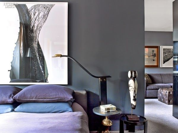 Un apartamento masculino y sexy en Manhattan · A sexy, masculine apartment in Manhattan | VINTAGE & CHIC | Bloglovin'