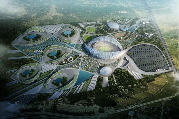 Pan African Games 2015 masterplan by IAD   wordlessTech