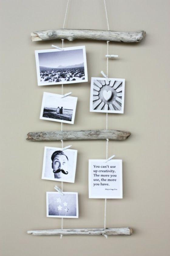 cadre photo intéressant en bois                                                                                                                                                                                 Plus