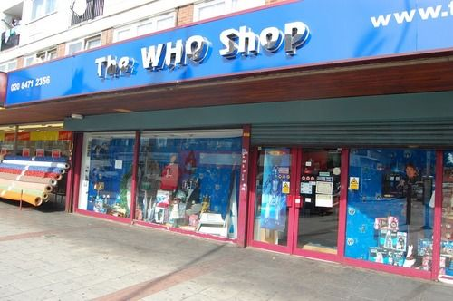 A shop in London dedicated to everything Doctor Who.  Bye guys! I'm off to London!