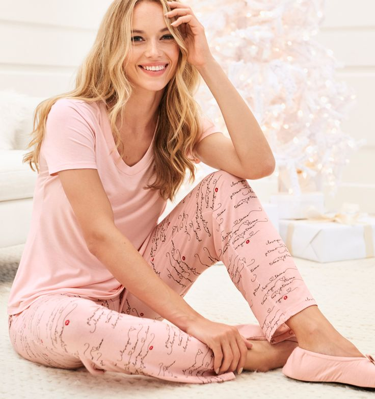 Bringing you comfort and joy this holiday season in our exclusive Cool Nights pajamas.