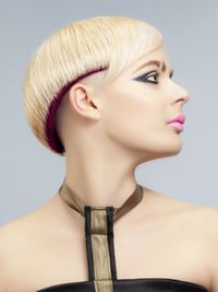 Pictures : New Short Punk Hairstyles for Women - Womens Short Punk Haircut With Undershave