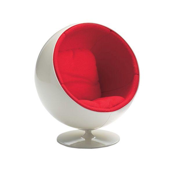 Vitra Miniatur Ball Chair bei prooffice.de #stuhl #chair #sessel #armchair #ballchair #miniatur #design