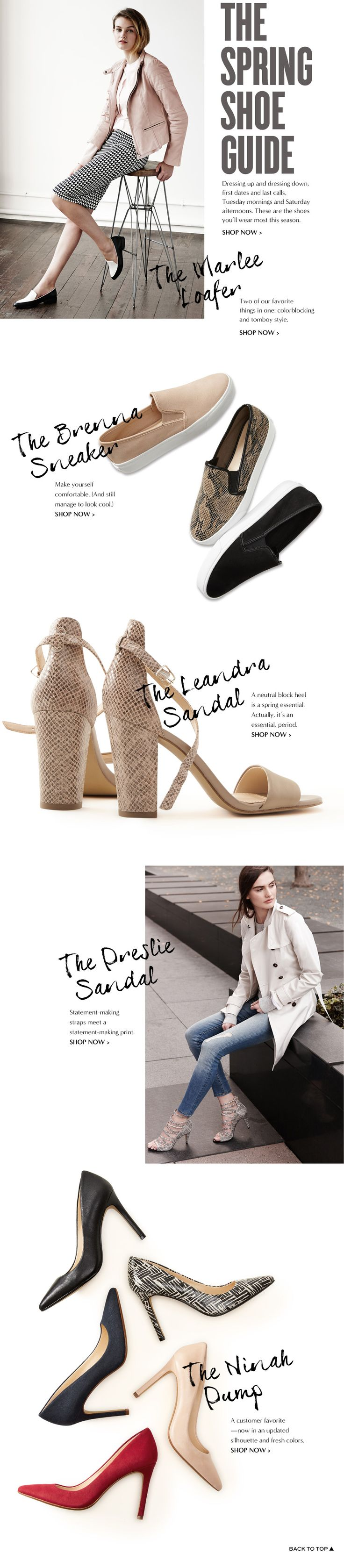 Shoes & Handbags: leather boots, flats, wedges, totes & satchels | Banana Republic