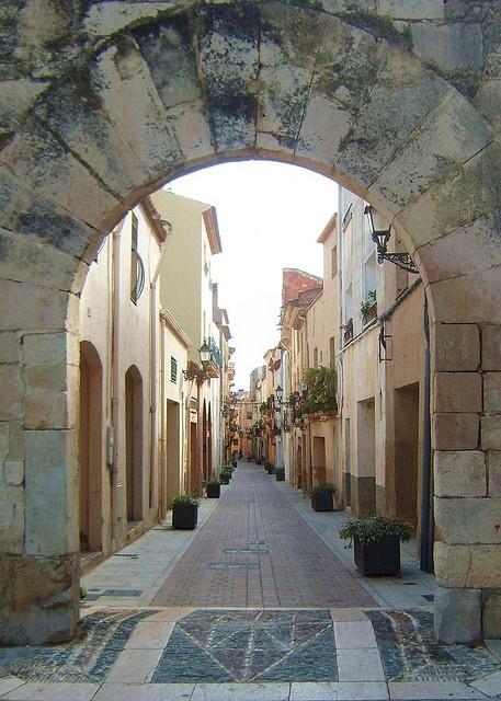 Arc al centre de Cambrils