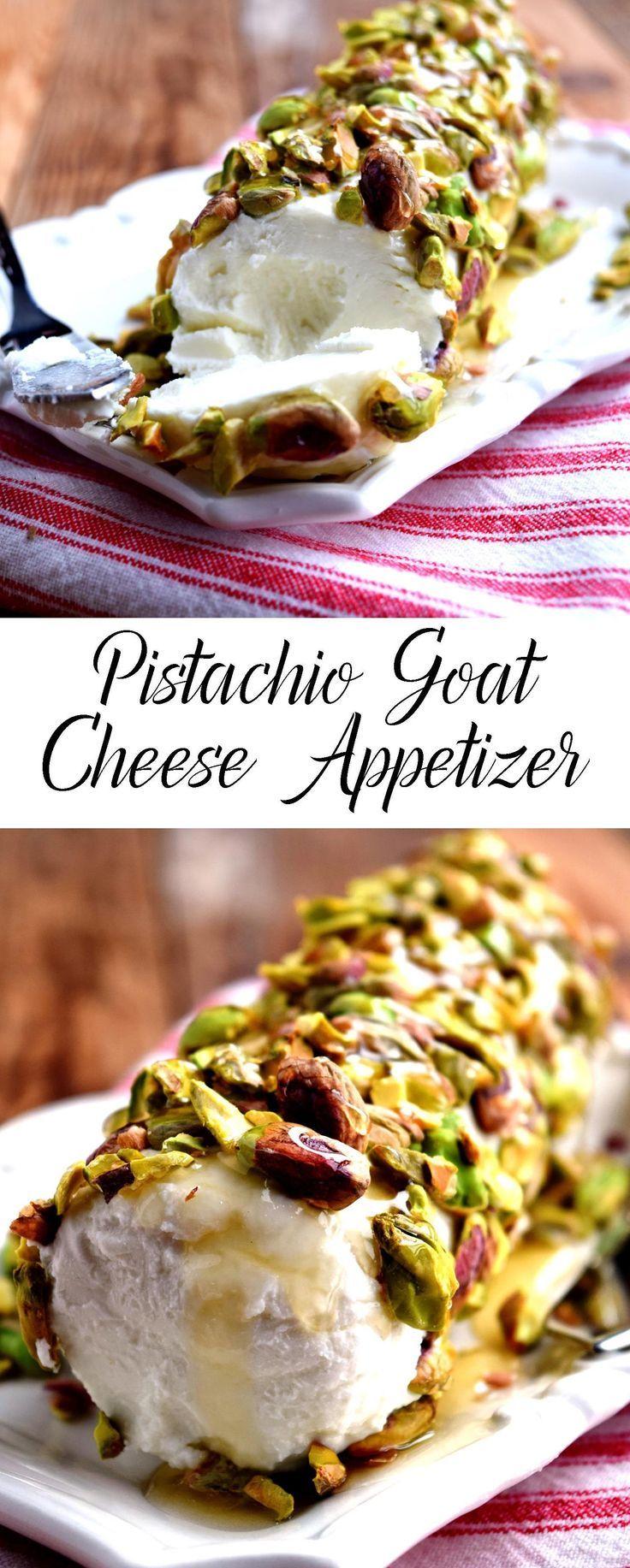 Pistachio Goat Cheese Appetizer