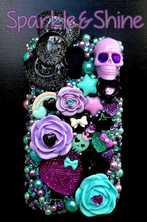 Hey, I found this really awesome Etsy listing at http://www.etsy.com/listing/156082681/scary-chic-decoden-kawaii-phone-case-for