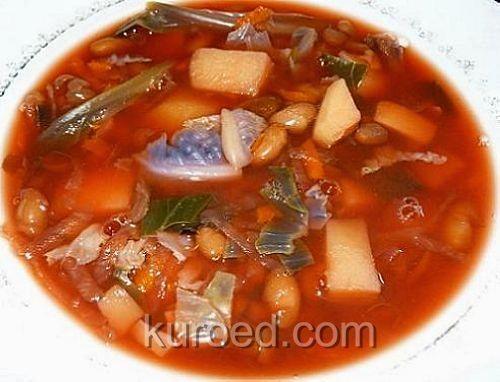 Заправка для борща из помидоров и сладкого перца