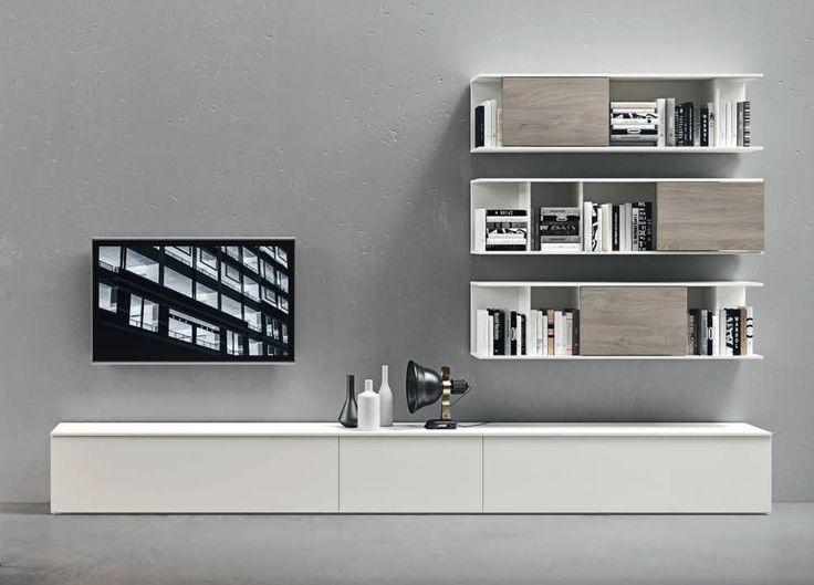 Novamobili Wall Unit/TV Unit/Bookcase 11                                                                                                                                                                                 More