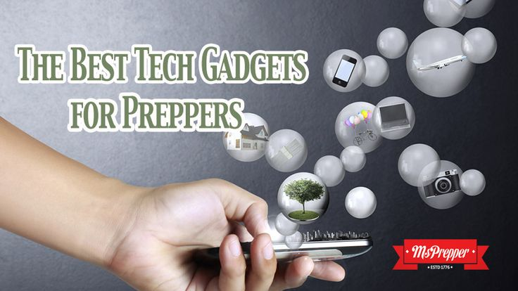 Looking for something new to add to your bug out gear? Check out the latest tech gadgets that double as survival tools! The Best Tech Gadgets for Preppers #prepping #Prepping #Preppers #Homesteading #Survival #MsPrepper