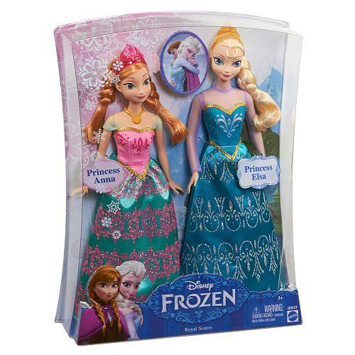 """Disney Frozen Royal Sisters Anna & Elsa Dolls - Mattel - Toys """"R"""" Us"""
