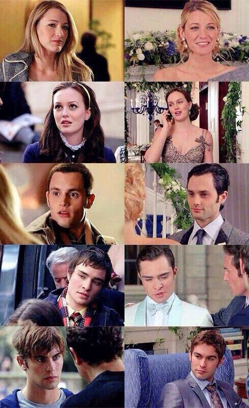 first episode to the last... crying.... Gossip Girl pilot- New York, I Love You xoxo