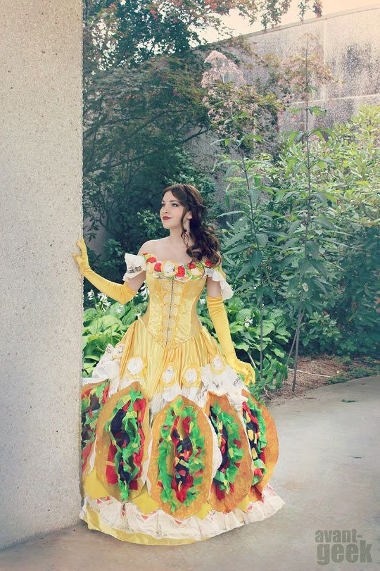 Beauty And The Feast: Taco Belle #lol #haha #funny