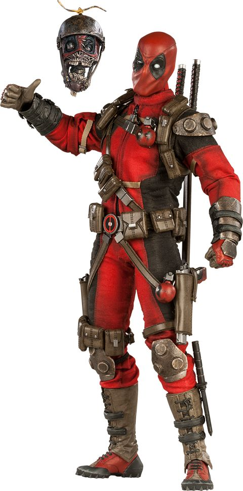 Deadpool Sixth Scale Figure $229.99!  (Exclusive Edition)  Click on the pictures above until you get to the Sideshow page to see more pics, details, and to pre-order today!